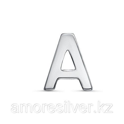 Подвеска TEOSA серебро с родием, без вставок, буква 3000-3047