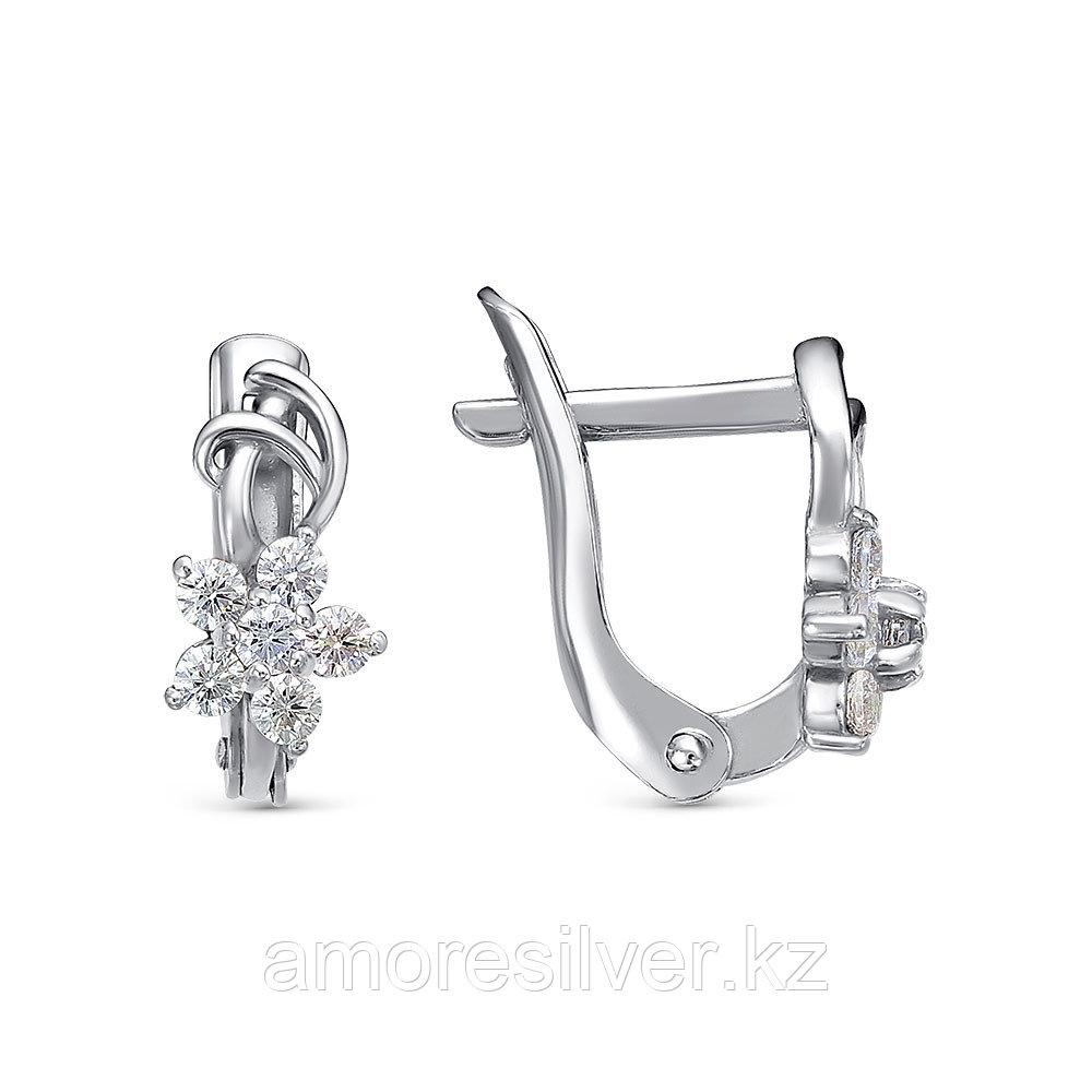 Кольцо Красная пресня серебро с позолотой, фианит 33811800Д
