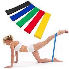 Резинки (мини-петли) для фитнеса, набор в чехле Фитнес на совесть!, фото 2