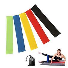 Резинки (мини-петли) для фитнеса, набор в чехле Фитнес на совесть!, фото 3