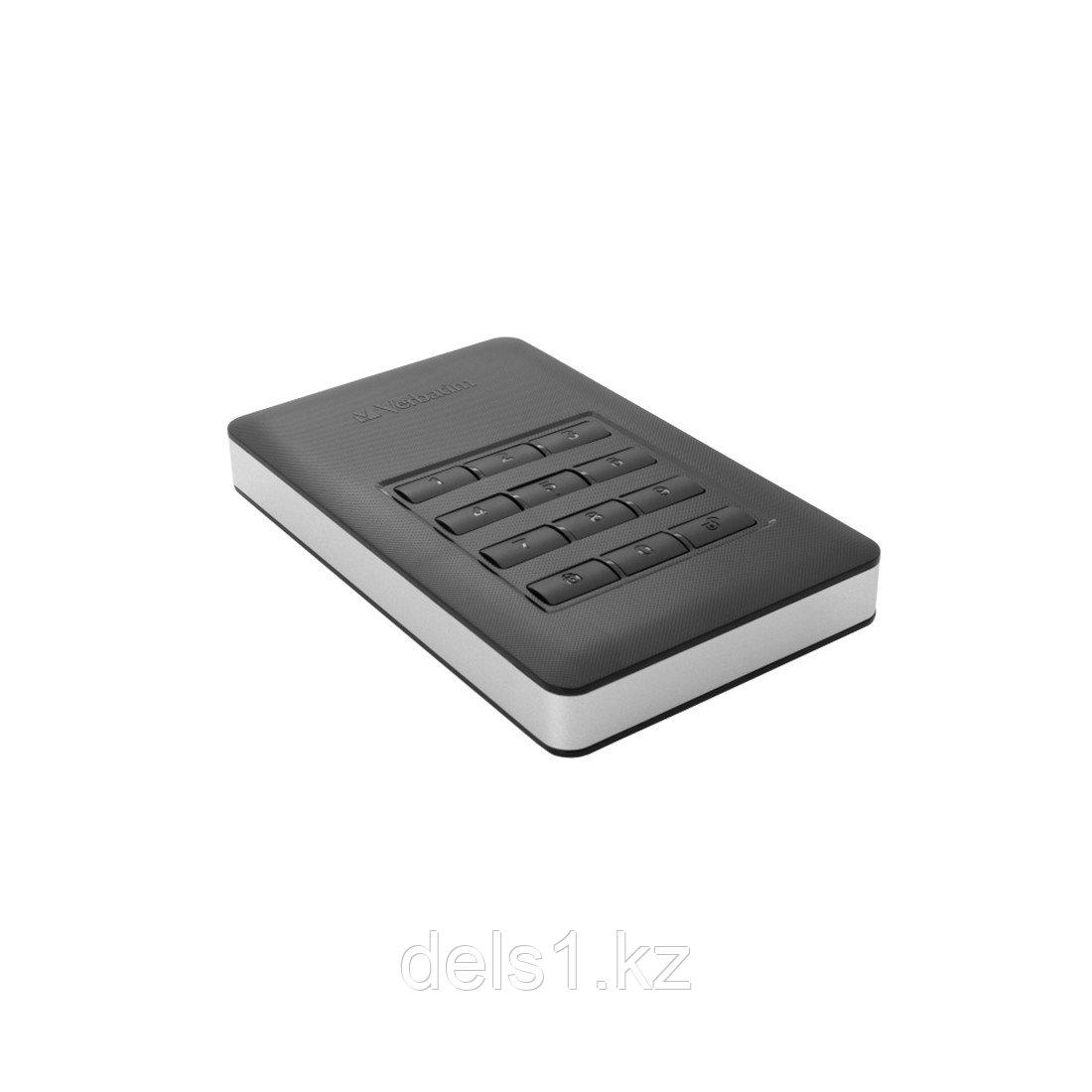 """Внешний жёсткий диск, Verbatim, 53403, 2TB, 2.5"""", USB 3.1, Чёрный"""