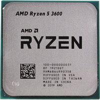 Процессор CPU AM4 AMD Ryzen 5 3600 TRAY <3.6GHz, 65W, 6C/12T, 32MB(L2+L3)