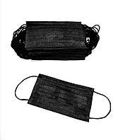 Медицинские маски черные от 13 тенге