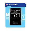 """Внешний жёсткий диск Verbatim 2TB 2.5"""" Store 'n' Go Чёрный, фото 2"""