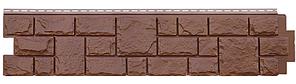 """Панель фасадная  """"ЯФАСАД"""" Екатерининский камень Гречневый  306x1487 мм Grand Line"""