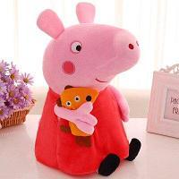 Мягкая игрушка Свинка пеппа 60 см Peppa Pig