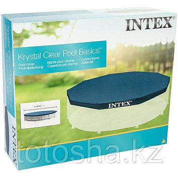 Крышка (тент) для каркасного бассейна 457 см , Intex 28032