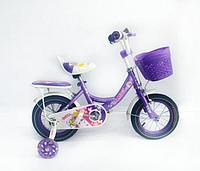 Детский велосипед Future Angel 12 2020 фиолетовый