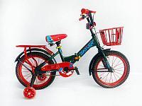 Детский велосипед Batler СКД-16 зеленый-красный