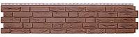"""Панель фасадная  """"ЯФАСАД"""" Демидовский кирпич Гречневый 306x1487 мм Grand Line"""