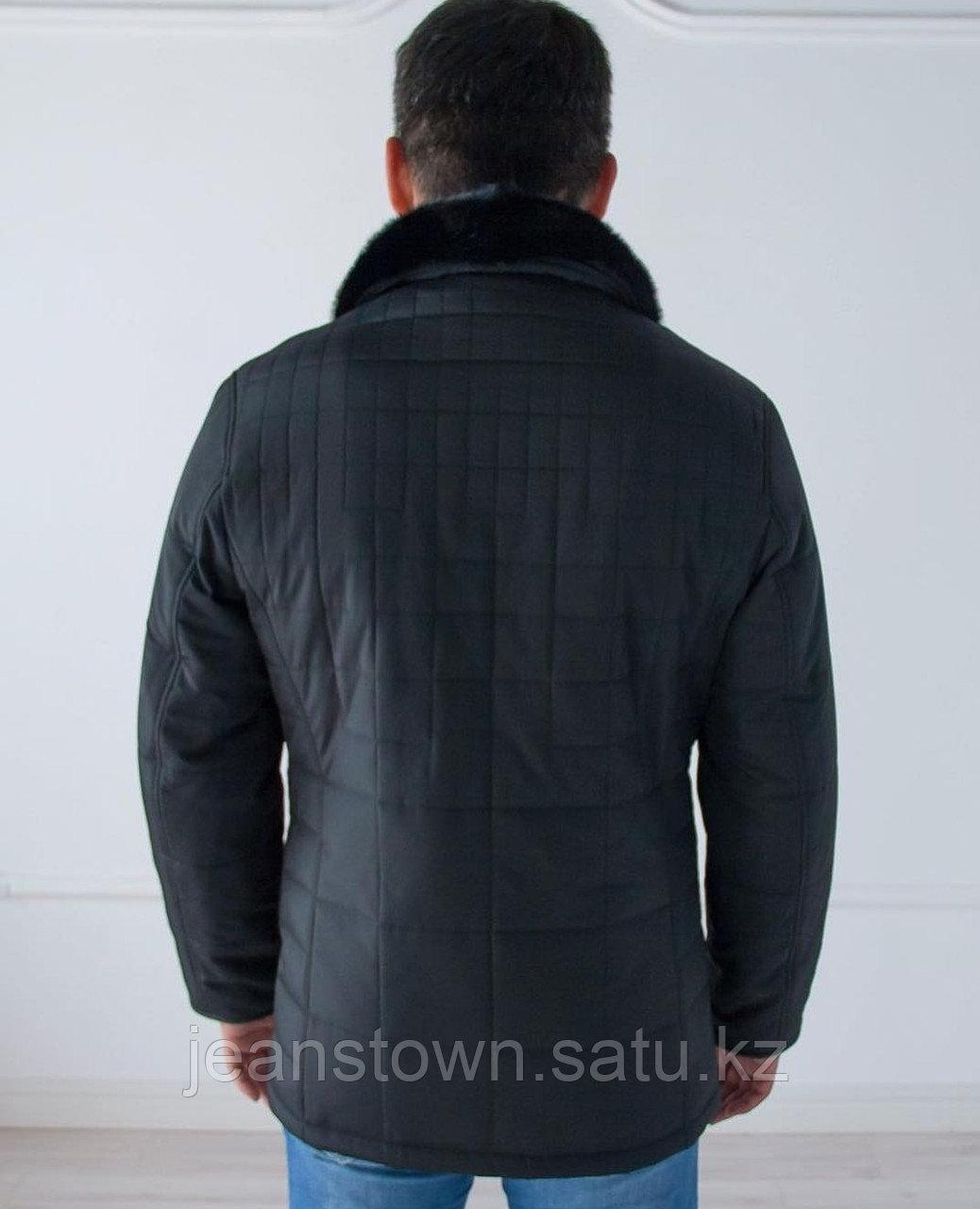 Куртка City Class мужская зимняя ,мех норки на воротнике - фото 2