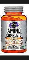 Комплекс аминокислот  Now Foods, Sports, Amino Complete, 180 капсул
