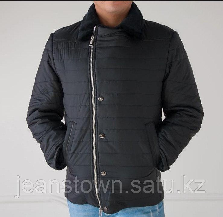 Куртка City Class мужская зимняя ,мех мутон на воротнике - фото 2