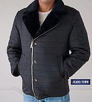 Куртка City Class мужская зимняя ,мех мутон на воротнике