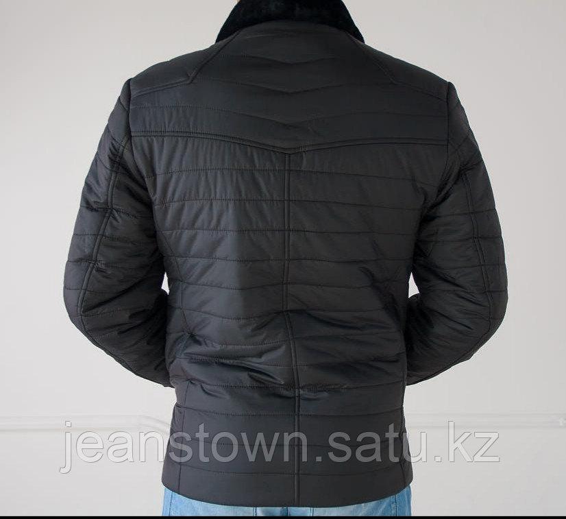 Куртка City Class мужская зимняя ,мех мутон на воротнике - фото 3