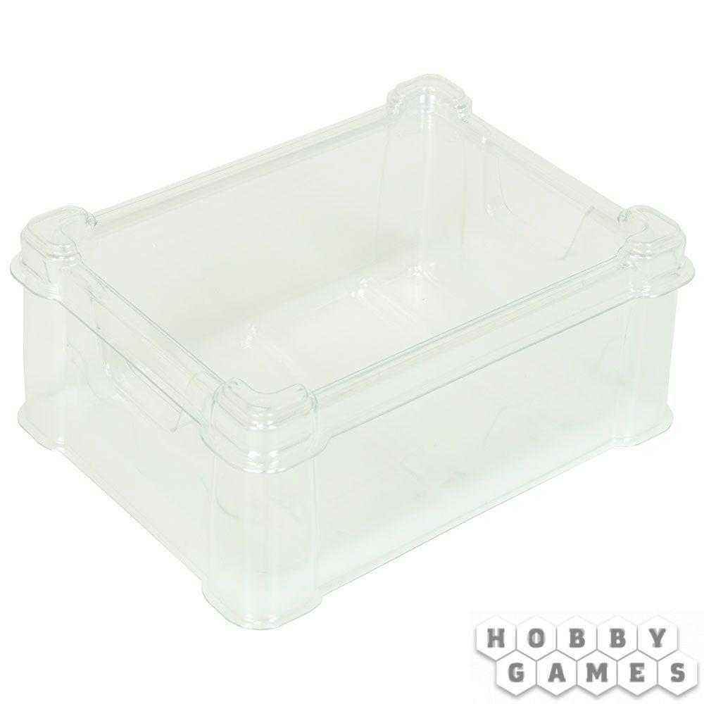 Пластиковая коробочка UniqTraySystem Card40 (под стандартные карты) прозрачный