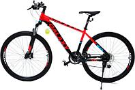 Скоростной велосипед Galaxy M35 27.5 2020 17 черный-оранжевый