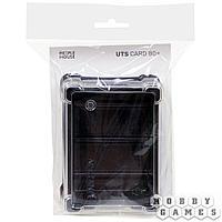 Пластиковая коробочка UniqTraySystem Card80 (под стандартные карты) прозрачный