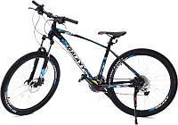 Скоростной велосипед Galaxy M50 черный-синий