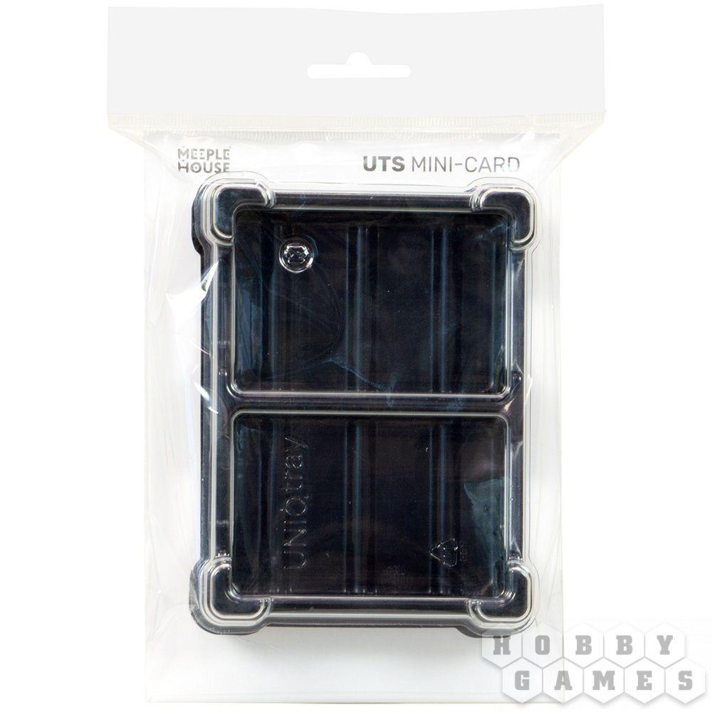 Пластиковая коробочка UniqTraySystem MiniCard (под миникарты) прозрачный