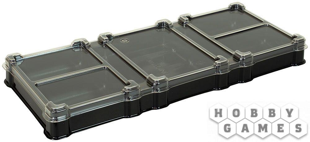 Пластиковая коробочка UniqTraySystem Organizer (7 секций) (пластик PET, прозрачный), арт.
