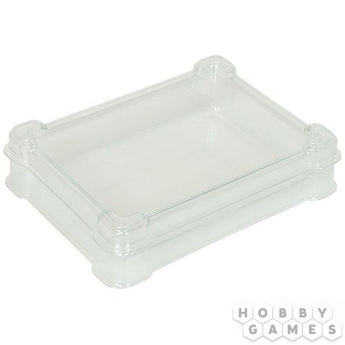 Пластиковая коробочка UniqTraySystem Token ONE (1 секция) прозрачный