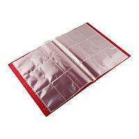 Blackfire 9 Pocket Card Album - Red
