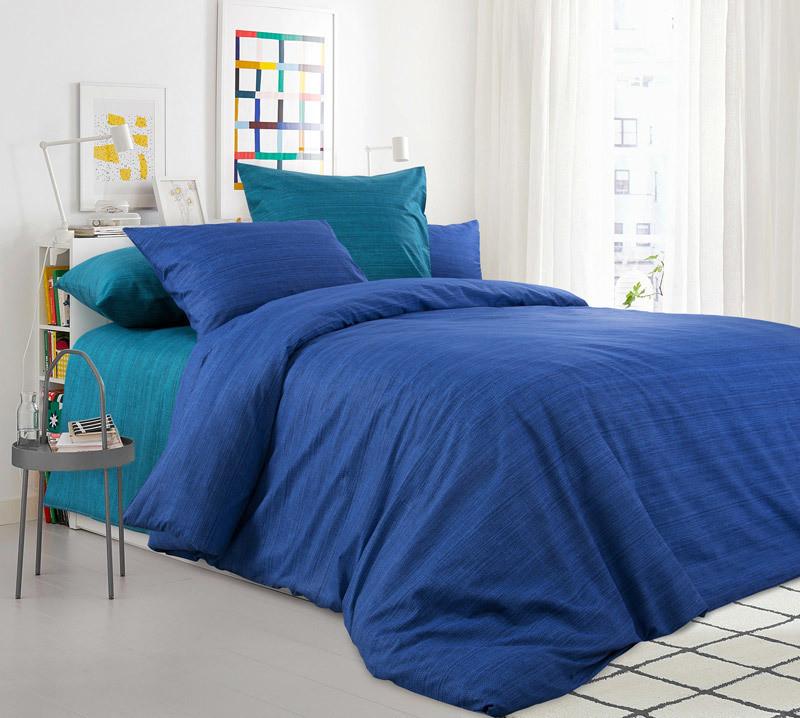 ТексДизайн Комплект постельного белья Морская лагуна,  дуэт(семейное), перкаль ТексДизайн(Россия),