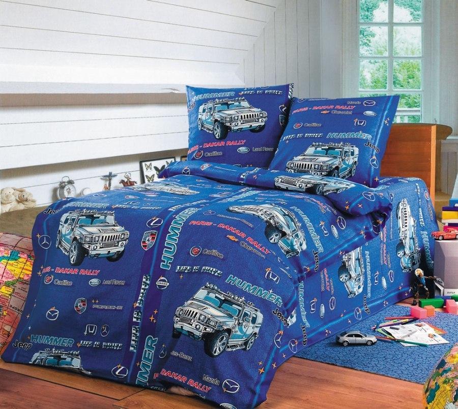 ТексДизайн Комплект постельного белья Хаммер, 1.5 спальный , бязь