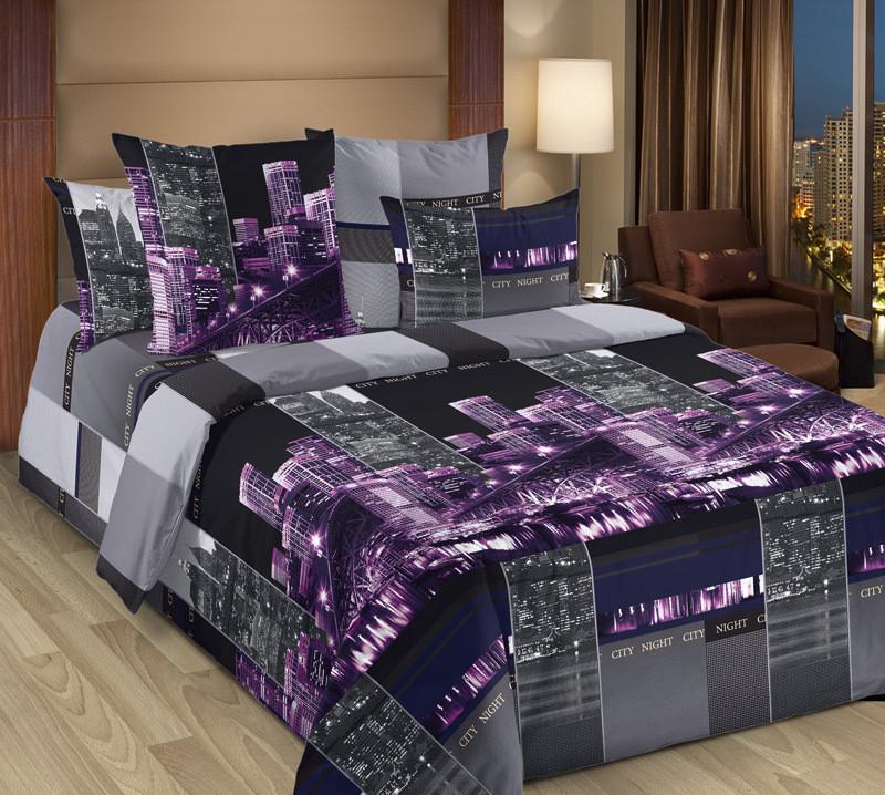ТексДизайн Комплект постельного белья Сити 2, 1.5 спальный , бязь