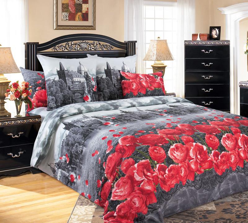 ТексДизайн Комплект постельного белья Прага 1, 1.5 спальный , бязь