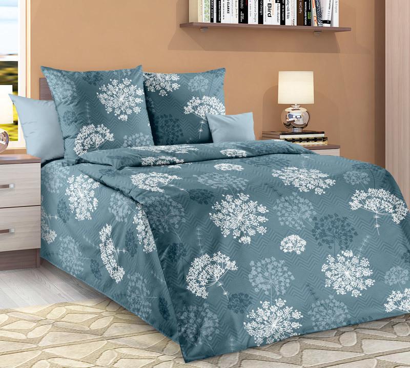 ТексДизайн Комплект постельного белья Фенхель 1, 1.5 спальный , бязь