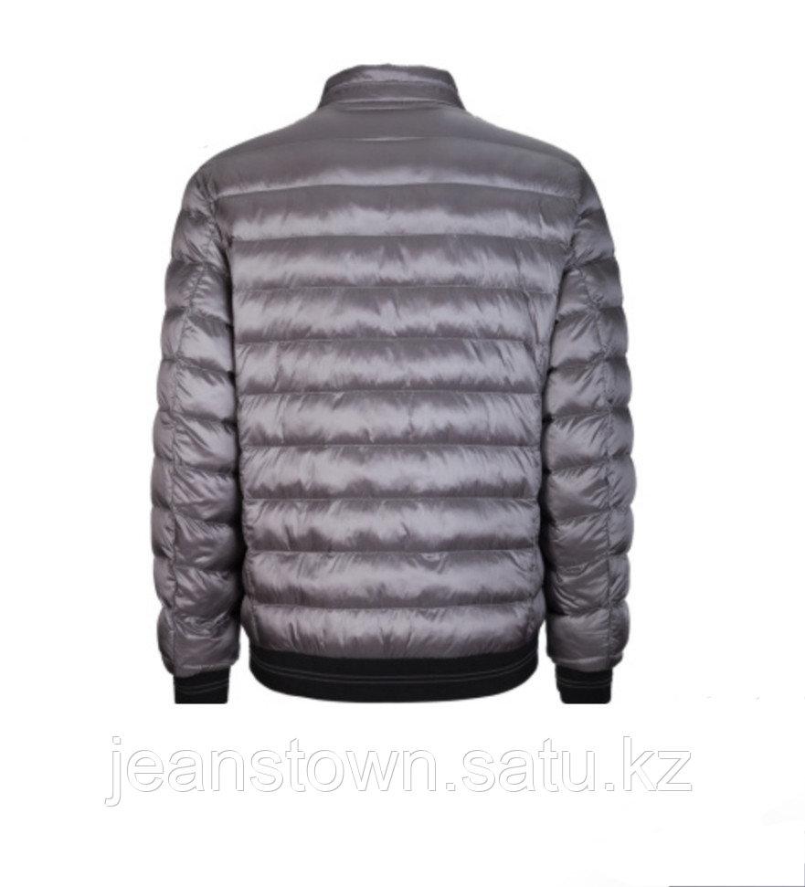 Куртка мужская демисезонная City Class серая,короткая - фото 2