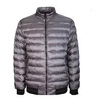 Куртка мужская демисезонная City Class серая,короткая
