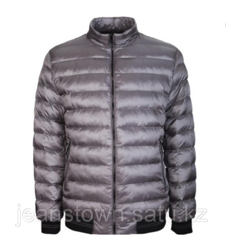 Куртка мужская демисезонная City Class серая,короткая - фото 1