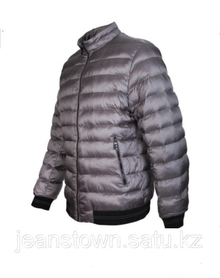 Куртка мужская демисезонная City Class серая,короткая - фото 3