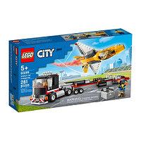 Конструктор LEGO Транспортировка самолёта на авиашоу 60289
