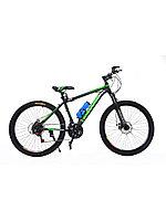 Горный подростковый велосипед Conqueror 26 2020 черный-зеленый