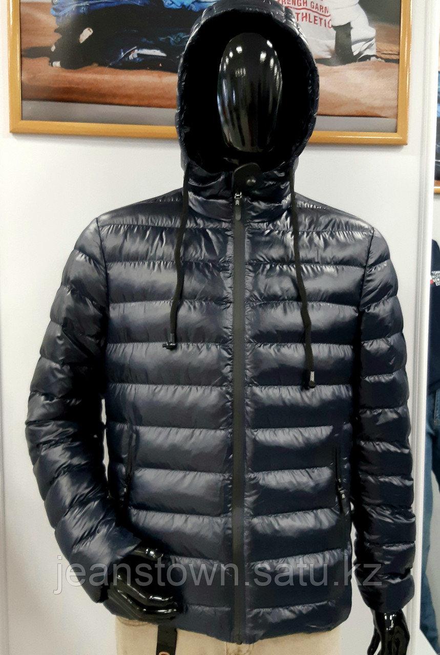 Куртка мужская демисезонная City Class синяя,короткая - фото 1