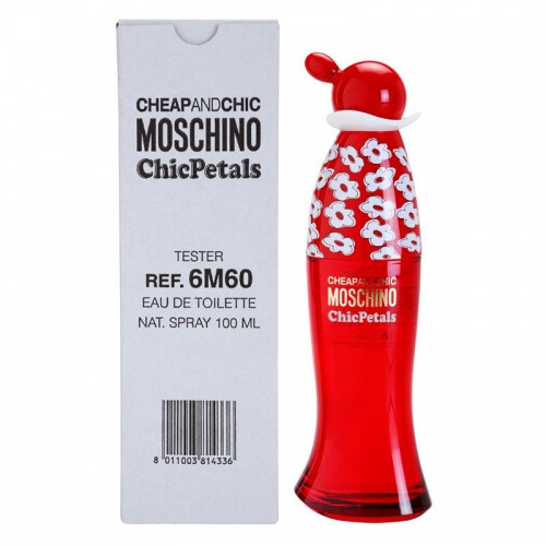 Moschino Cheap & Chic Chic Petals edt tester 100ml