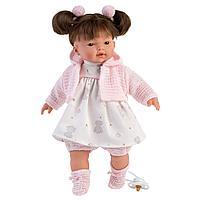Кукла Llorens Вера 33см, брюнетка в розовом наряде