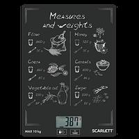 Весы кухонные Scarlett SC-KS57P64