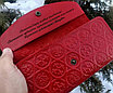Женский клатч портмоне  с гравировкой, фото 4