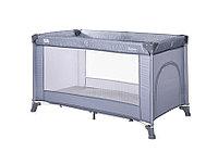 Кровать-манеж Lorelli Torino 1 Серо - синий / Silver Blue 2124