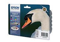 Картридж Epson C13T11174A10 (0817) R270/290/RX590 набор 6 шт.