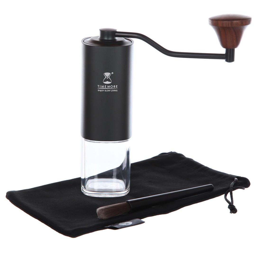 Кофемолка Timemore G1s Titanium Version Ручная Черная