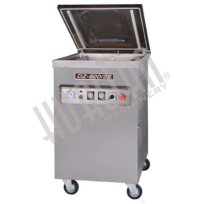 Напольная вакуум-упаковочная машина HUALIAN DZQ-500/2E (нерж., газ)