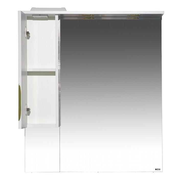 Престиж - 80 Зеркало-шкаф (левое) золотая патина - фото 2