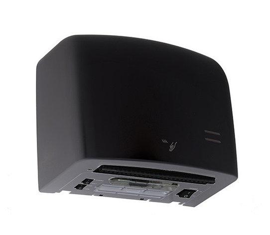 Высокоскоростная сушилка для рук Breez BHDA-1250 BL серия AirMax (пластик чёрная), фото 2