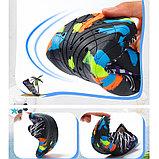 Акваобувь для плавания, цвет синий, фото 3